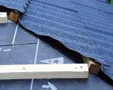 ローマンルーフィングは断熱上手で音静かな屋根材